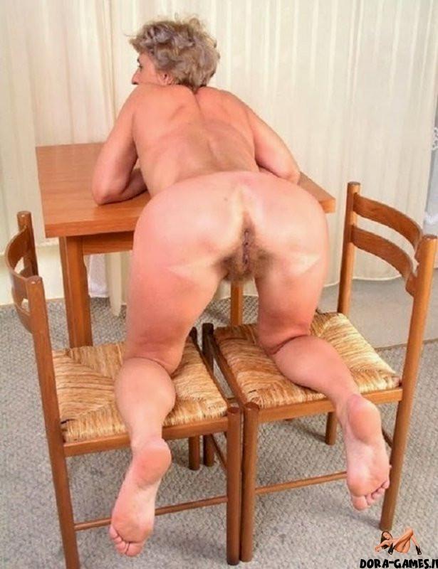 Nackt geile von hinten frau Männer Nackt