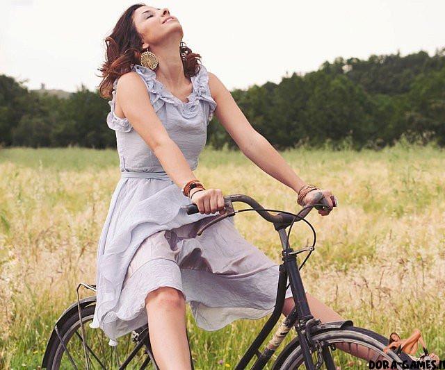Dildo Bike Orgasm