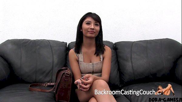 ebony teen casting creampie