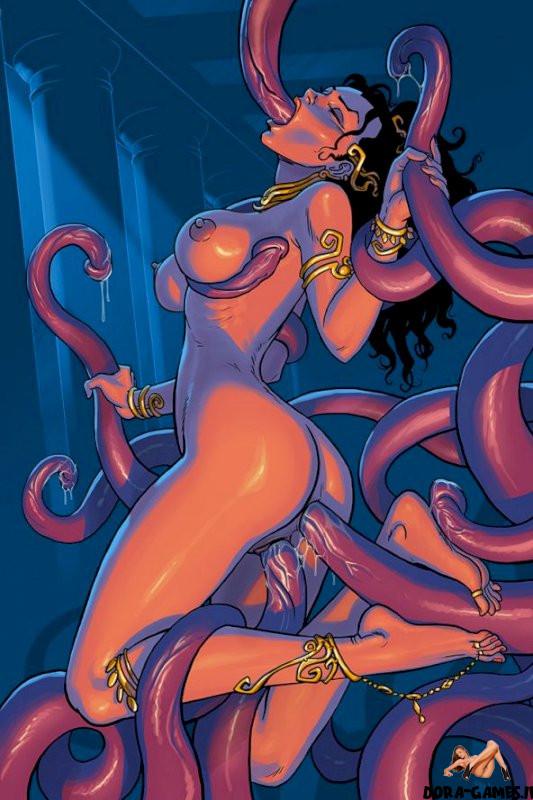 Tentacle erotica hentai Tentacle Porn