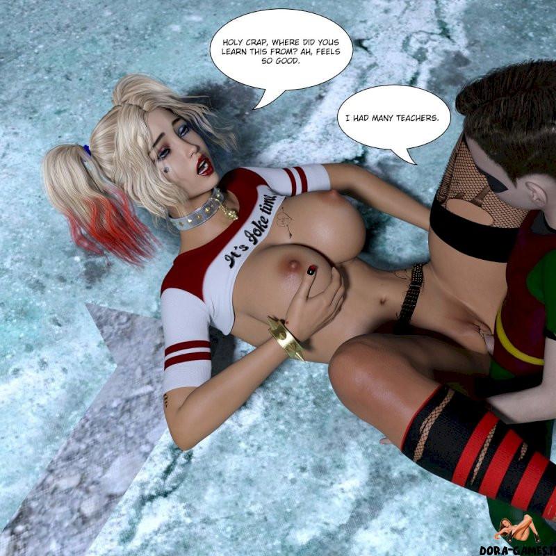 Harley Quinn Xxx